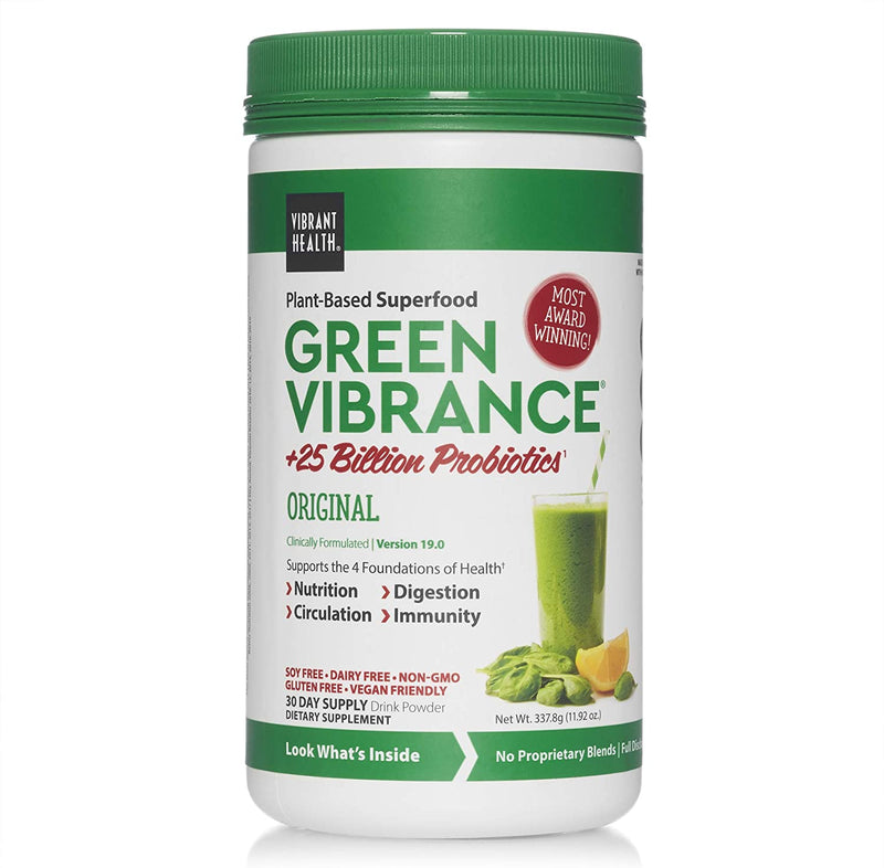 Vibrant Health Green Vibrance 30 Day Supply