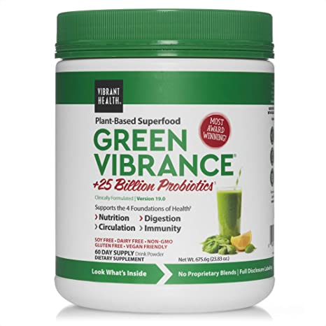 Vibrant Health Green Vibrance 60 Day Supply