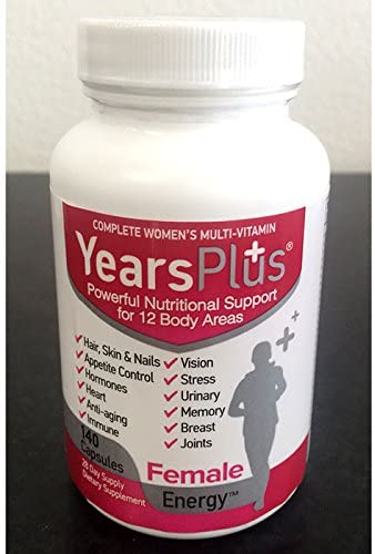 Years Plus Female Energy 28 Day Supply