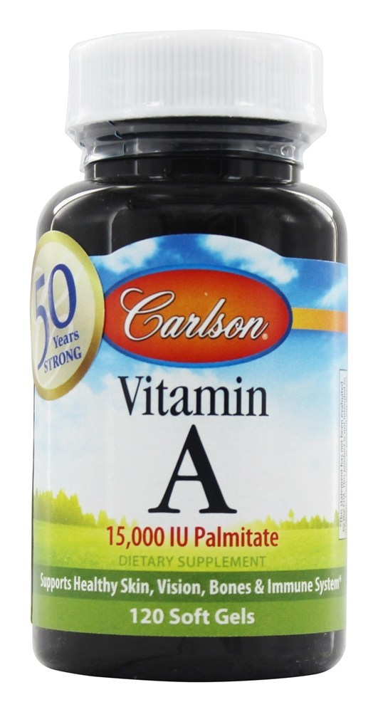 Carlson Vitamin A 120 Softgels