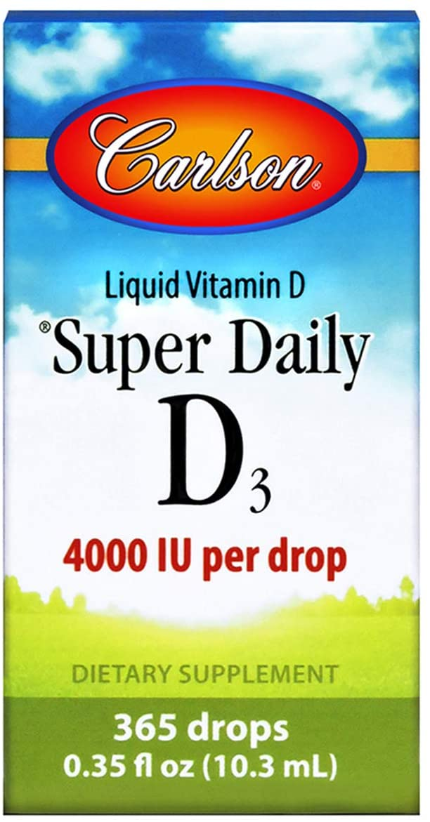 Carlson Liquid Vitamin D 3 4,000 IU .35 oz