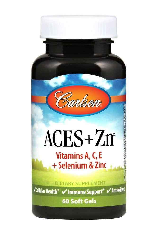 Carlson Aces + Zn 60 Softgels