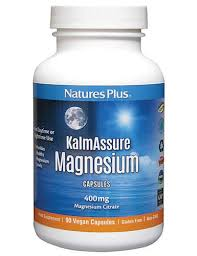 Natures Plus KalmAssure Magnesium 400 mg Caps