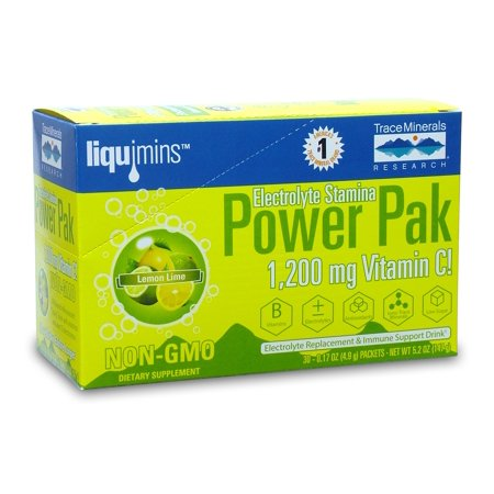 Trace Minerals PowerPak Lemon Lime 30-.17 packets