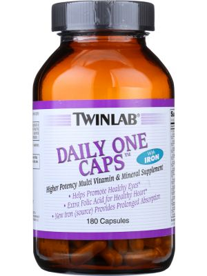 Twinlab Daily One Caps Without Iron 180 Caps