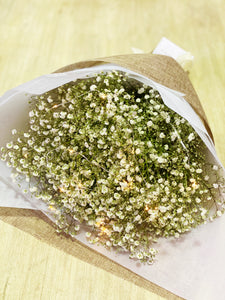 The Little Market Bunch Baby Breath Bouquet fairy light