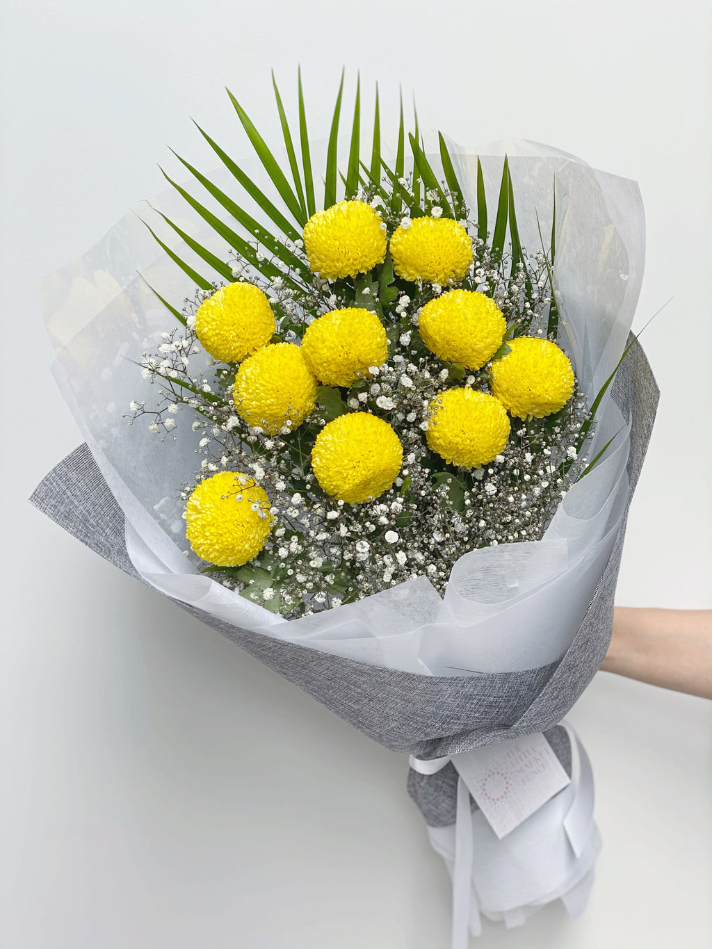 Chrysanthemum PomPom Bouquet