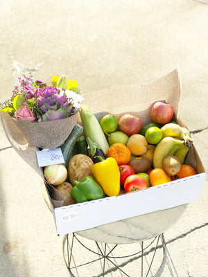 The Little Fruit & Vegetable Pack & Flower