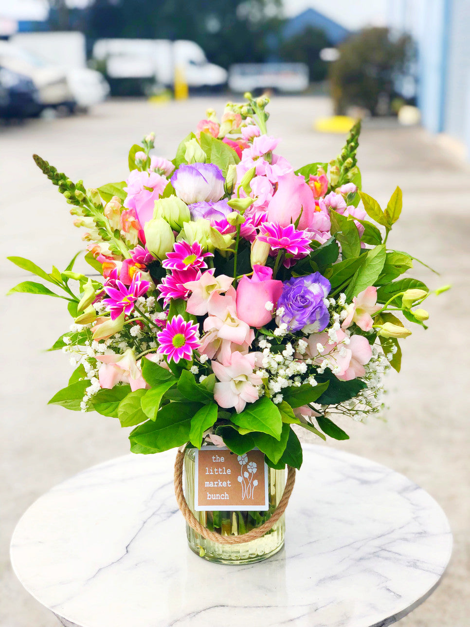 Online fresh flowers delivery melbourne the little market bunch flowers for today izmirmasajfo