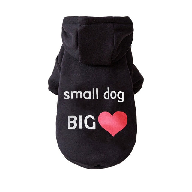 Cute Dog Hoodie Winter Pet Dog Clothes For Dogs Coat Jacket Cotton Ropa Perro French Bulldog Clothing For Dogs Pets Clothing Pug