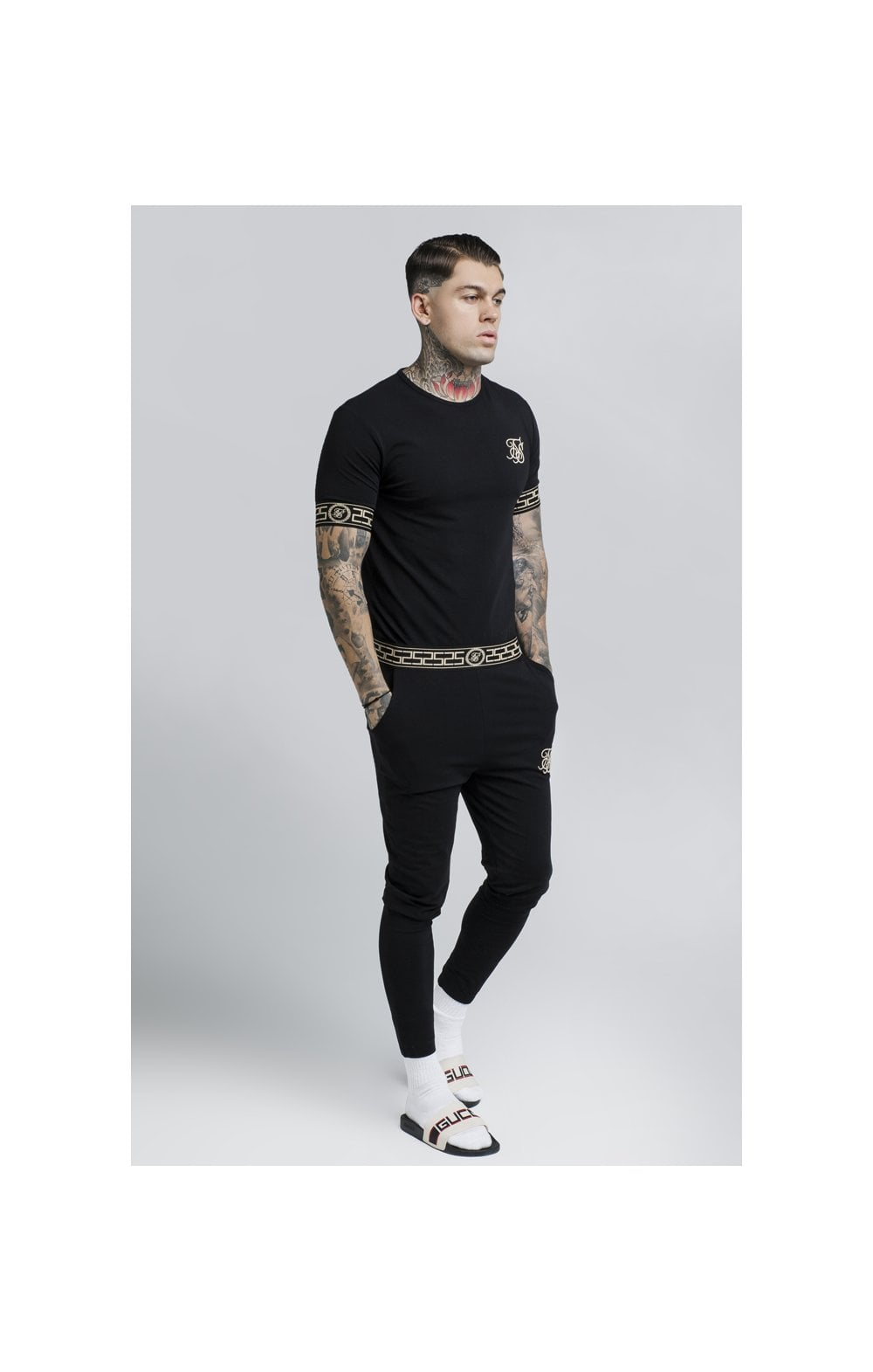 SikSilk Cartel Lounge Tee – Black (2)