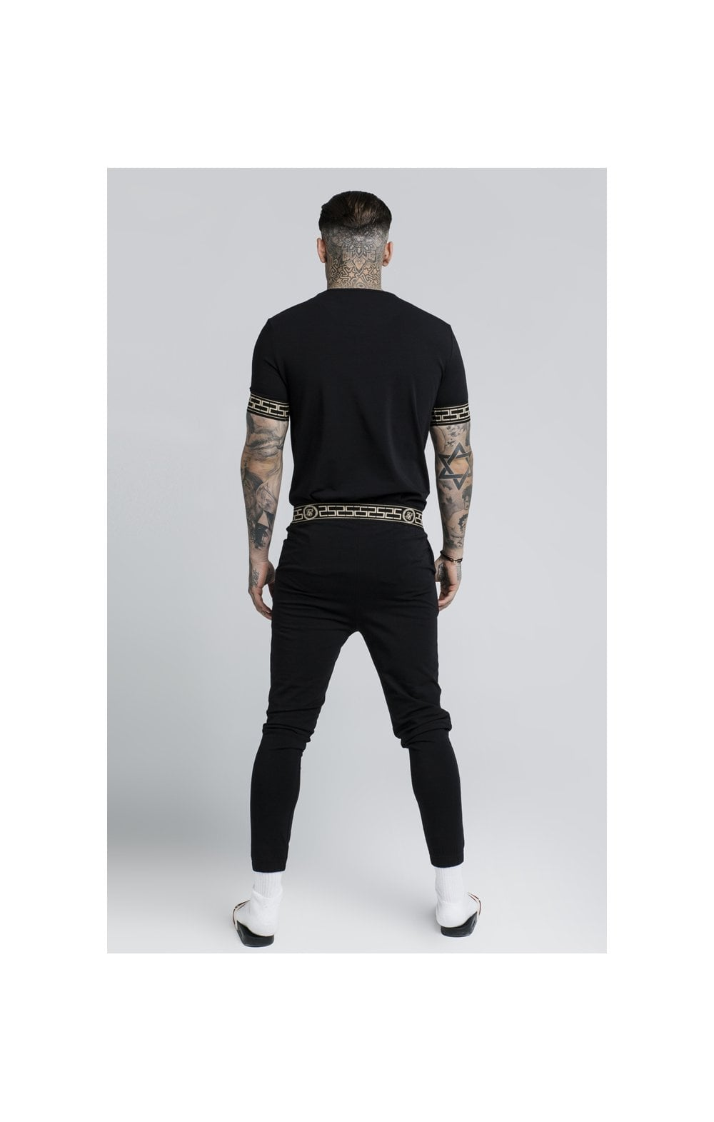SikSilk Cartel Lounge Tee – Black (4)