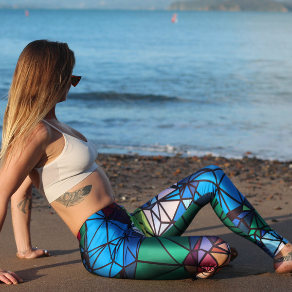 Geometrical Pattern Leggings