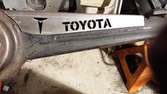 Old School Toyota Front Axle Truss