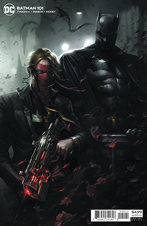 BATMAN #101 CVR B FRANCESCO MATTINA CARD STOCK VAR