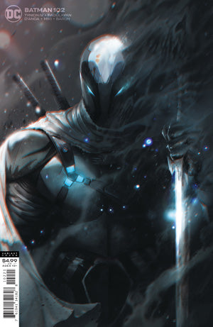 BATMAN #102 CVR B FRANCESCO MATTINA CARD STOCK VAR