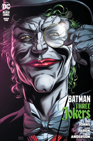 BATMAN THREE JOKERS #2 (OF 3) PREMIUM VAR E DEATH IN THE FAMILY TOP HAT & MONOCLE