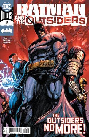 BATMAN AND THE OUTSIDERS #17 CVR A TYLER KIRKHAM