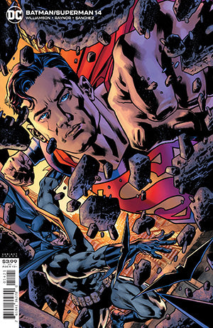BATMAN SUPERMAN #14 CVR B BRYAN HITCH VAR