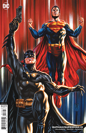 BATMAN SUPERMAN #13 CVR B MARK BROOKS CARD STOCK VAR