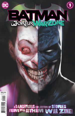 BATMAN THE JOKER WAR ZONE #1 (ONE SHOT) CVR A BEN OLIVER (JOKER WAR)
