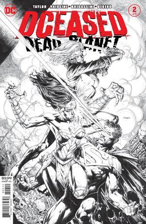 DCEASED DEAD PLANET #2 (OF 6) 2ND PTG DAVID FINCH B&W VAR