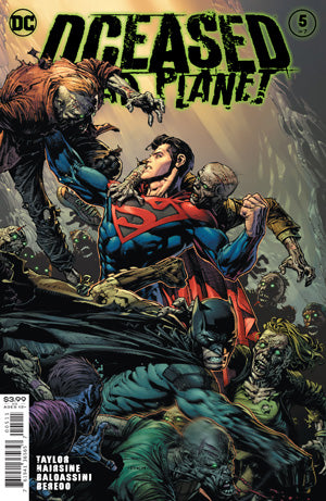 DCEASED DEAD PLANET #5 (OF 7) CVR A DAVID FINCH