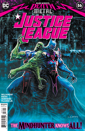 JUSTICE LEAGUE #56 CVR A LIAM SHARP (DARK NIGHTS DEATH METAL)