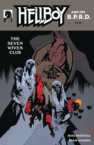 HELLBOY & THE BPRD THE SEVEN WIVES CLUB CVR B MIGNOLA