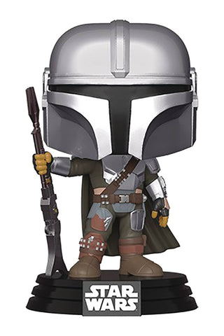 POP STAR WARS MANDALORIAN THE MANDALORIAN VIN FIG (C: 1-1-2)