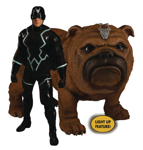 ONE-12 COLLECTIVE MARVEL INHUMANS BLACK BOLT & LOCKJAW AF