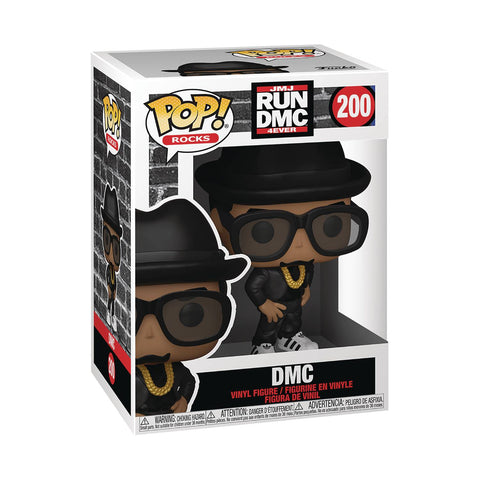 POP ROCKS RUN-DMC DMC VINYL FIGURE