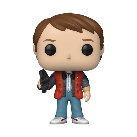 POP MOVIE BTTF MARTY IN PUFFY VEST VINYL FIGURE