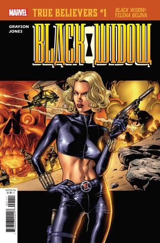 TRUE BELIEVERS BLACK WIDOW YELENA BELOVA #1