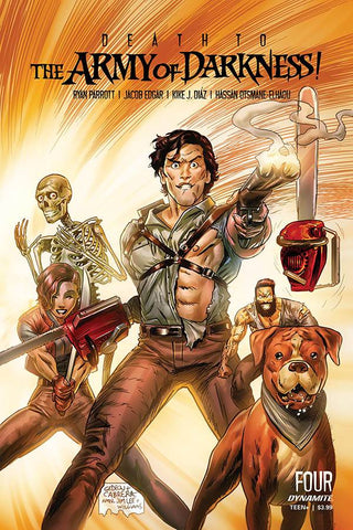 DEATH TO ARMY OF DARKNESS #4 CVR D GEDEON HOMAGE