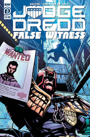 JUDGE DREDD FALSE WITNESS #3 (OF 4) CVR A ZAMA