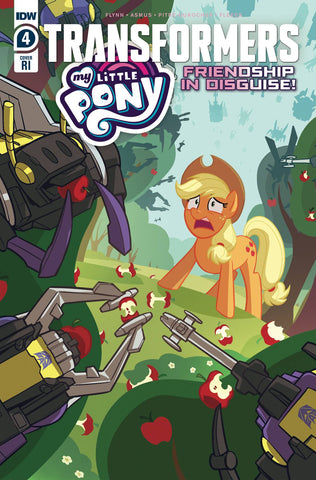 MY LITTLE PONY TRANSFORMERS #4 (OF 4) 10 COPY PITRE-DUROCHER