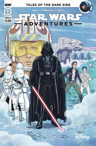 STAR WARS ADVENTURES (2020) #1 CVR B BROKENSHIRE (RES)
