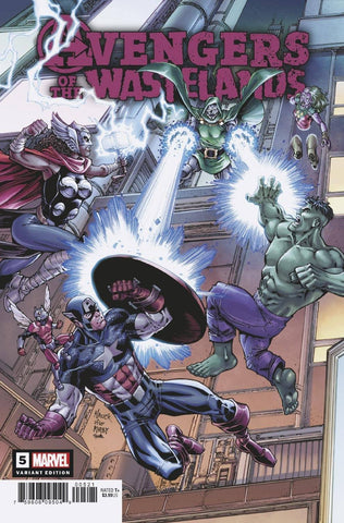 AVENGERS OF THE WASTELANDS #5 (OF 5) NAUCK VAR