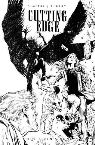 CUTTING EDGE SIRENS SONG #1 CVR C GUICE B&W