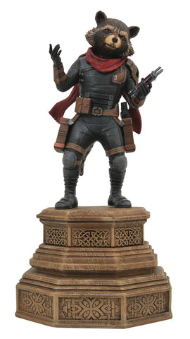MARVEL GALLERY AVENGERS ENDGAME ROCKET RACCOON PVC STATUE
