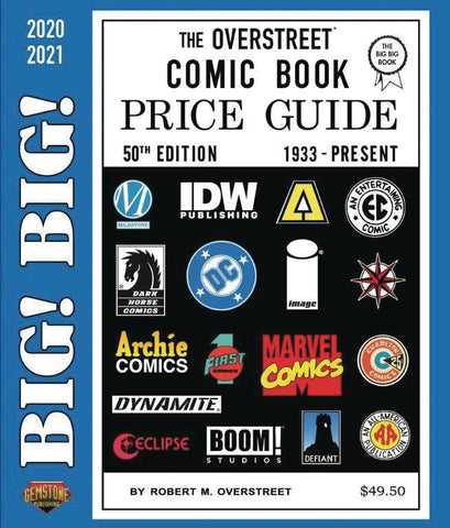 BIG BIG OVERSTREET PRICE GD VOL 50