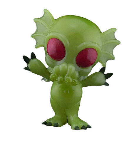 HCF 2020 CRYPTKINS UNLEASHED CTHULHU GID PX 5IN VINYL FIG (C