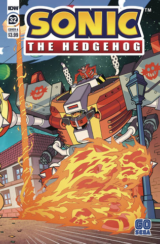 SONIC THE HEDGEHOG #32 CVR A YARDLEY