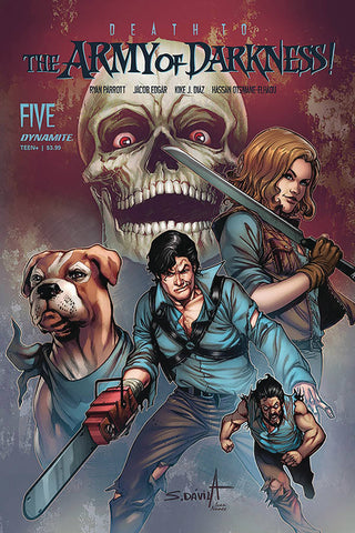DEATH TO ARMY OF DARKNESS #5 CVR B DAVILA
