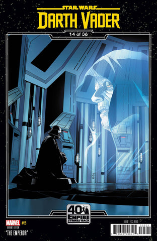 STAR WARS DARTH VADER #5 SPROUSE EMPIRE STRIKES BACK VAR