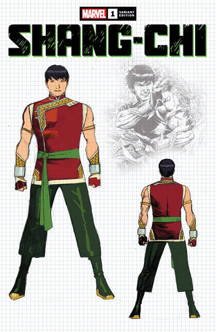 SHANG-CHI #1 (OF 5) CHEUNG DESIGN VAR 1:10