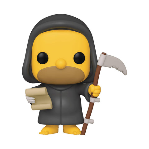 POP ANIMATION SIMPSONS REAPER HOME VINYL FIGURE