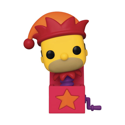 POP ANIMATION SIMPSONS HOMER JACK IN THE BOX VIN FIG