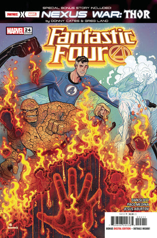 FANTASTIC FOUR #24 FORTNITE STORY